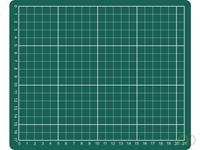 Rillstab Snijmat  A5 230x190mm groen