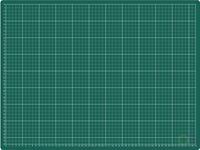 Rillstab Snijmat  A2 600X450mm groen