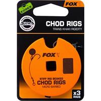 FOX Edges Arma Point Beaked Chod Rig - Barbless - 25lb - Maat 6