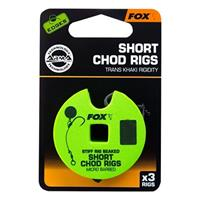 FOX Edges A.Point Beaked Chod Rig Short - Barbless - 25lb - Mt 6