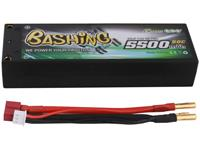 gensace Gens ace LiPo accupack 7.4 V 5500 mAh Aantal cellen: 2 50 C Box hardcase 4 mm, T-stekkersysteem