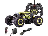 carsonmodellsport Carson Modellsport 500404201 My First Magic Machine 1:10 RC modelauto voor beginners Elektro Monstertruck 4WD Incl. accu, oplader en batterijen voor de zender