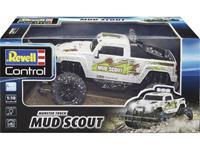 Revell Control 24643 New Mud Scout 1:10 RC modelauto voor beginners Elektro Monstertruck Achterwielaandrijving