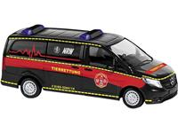 Busch 51137 H0 Mercedes Benz Vito reddingsoperaties