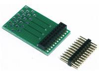 TAMS Elektronik 70-01045-01-C Adapter voor PluX- en 21MTC-interface Bouwpakket