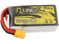 Tattu LiPo accupack 14.8 V 1550 mAh Aantal cellen: 4 120 C Softcase XT60