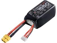 DroneArt LiPo accupack 14.8 V 1550 mAh Aantal cellen: 4 95 C Softcase XT60