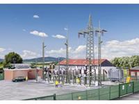 Kibri 39840 H0 Transformatorstation onder de fabriek Baden-Baden