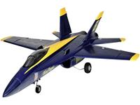 amewi F18 Jet Blue Angel Blauw, Geel RC jet PNP 686 mm