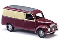 Busch 8679 TT Framo Bestelwagen wijnrode/beige