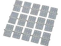 du-bro Hinges 16/28 Scharnier Rechthoekig Polyamide (l x b) 28 mm x 16 mm 15 stuks
