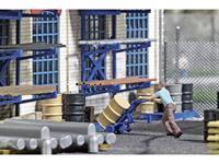 Busch Action-Set 7842 H0 Vatwagen