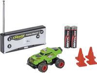 Carson RC Sport 500404185 Nano Racer Dino-Race 1:60 RC auto Elektro Monstertruck Achterwielaandrijving Incl. batterijen