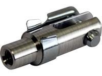Famotec Aluminium Gaffelkop met binnenschroefdraad M3 1 stuks