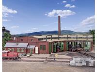 Vollmer 45758 H0 Zes permanente locomotievenloods
