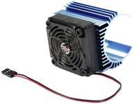 Hobbywing Motorkoellichaam met ventilator 60 mm Ventilatorpositie: In het midden geplaatst Geschikt voor modelbouwmotor: #####44 mm (Ã) Motoren