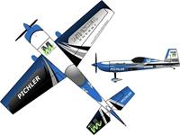 pichler Extra 330 Münster Energy Combo Blauw RC vliegtuig Bouwpakket 840 mm