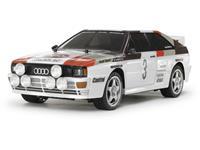 Tamiya TT-02 Audi Quattro Rally Brushed 1:10 RC auto Elektro Straatmodel 4WD Bouwpakket