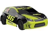 Traxxas Ford Fiesta St Rally VR46 Brushed 1:18 RC auto Elektro Straatmodel 4WD 100% RTR 2,4 GHz