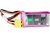 hacker LiPo accupack 11.1 V 500 mAh Aantal cellen: 3 25 C Softcase XT60