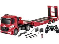 Carson RC Sport Arocs met Goldhofer dieplader 1:20 RC functiemodel voor beginners Truck Incl. accu, oplader en batterijen voor de zender