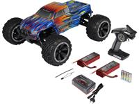 Reely BIG1 1:8 Brushless RC auto Elektro Monstertruck 4WD RTR 2,4 GHz Incl. accu, oplader en batterijen voor de zender
