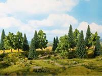 NOCH 0024312 Set bomen Gemengd bos 80 tot 140 mm 13 stuk(s)