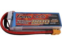 Gens ace LiPo accupack 18.5 V 1800 mAh Aantal cellen: 5 45 C Softcase XT60
