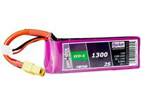 hacker LiPo accupack 7.4 V 1300 mAh Aantal cellen: 2 25 C Softcase XT60