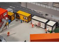Faller 130136 H0 4-delige set bouwcontainer