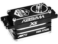 mks Speciale servo HBL550L Brushless servo Materiaal (aandrijving): Metaal Stekkersysteem: JR