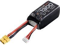 DroneArt LiPo accupack 14.8 V 1300 mAh Aantal cellen: 4 75 C Softcase XT60