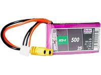 hacker LiPo accupack 7.4 V 500 Aantal cellen: 2 25 C Softcase XT60