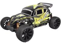 fgmodellsport FG Modellsport Monster Buggy RTR 1:6 RC auto Benzine Buggy 4WD RTR 2,4 GHz Incl. accu, oplader en batterijen voor de zender