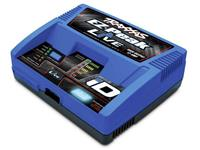 Traxxas Modelbouw oplader 12 A  EZ-Peak Live Li-poly, NiMH Minus-delta-U-uitschakeling, Batterijherkenning, Temperatuurbewaking