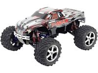 traxxas T-Maxx 3.3 1:10 Voertuig Nitro Monstertruck 4WD RTR 2,4 GHz Incl. accu en lader