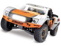 Traxxas Unlimited Desert VXL Fox Brushless RC auto Elektro Short Course 4WD RTR 2,4 GHz