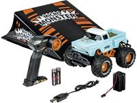Carson Modellsport Micro Monster 1:22 Brushed RC auto Elektro Monstertruck RTR 2,4 GHz
