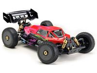 absima STOKE Gen2.0 Rood Brushed 1:8 RC auto Elektro Buggy 4WD RTR 2,4 GHz