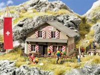 NOCH 0065800 H0 Bergrestaurant grote mythen