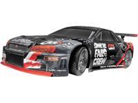 hpiracing HPI Racing E10 Drift Nissan Skyline R34 GT-R Brushed 1:10 RC auto Elektro Straatmodel 4WD 100% RTR 2,4 GHz Incl. accu, oplader en batterijen voor de zender