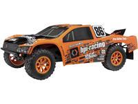 hpiracing HPI Racing Jumpshot SC V2 Oranje, Zwart Brushless 1:10 RC auto Elektro Short Course Achterwielaandrijving RTR 2,4 GHz