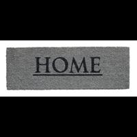Praxis Deurmat Ruco Print Home grijs 26x75cm