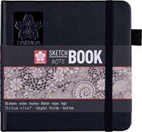 Sakura schetsboek Note, wit, ft 12 x 12 cm