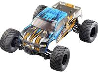 Reely Brushed 1:10 XS RC motorfiets voor beginners Elektro Monstertruck 4WD RTR 2,4 GHz Incl. accu en laadkabel