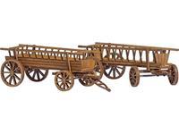 Busch 1385 H0 2 ladderwagens