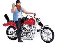 Busch 7861 H0 Motorfiets US motorfiets met motorrijder
