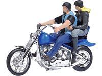 Busch 7860 H0 Motorfiets US motorfiets met bikerpairen