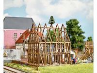 Busch 1370 H0 Vakwerkhuis ruw bouwen