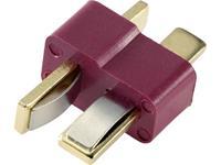 Reely RE-6620445 Accupack stekker T-stekkers Verguld 1 stuk(s)
